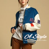 Casual Style Unisex Street Style Bi-color Medium Oversized