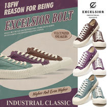 EXCELSIOR Unisex Street Style Plain Sneakers