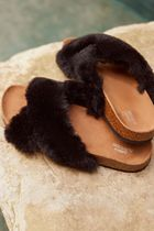 Urban Outfitters Faux Fur Sandals Sandal
