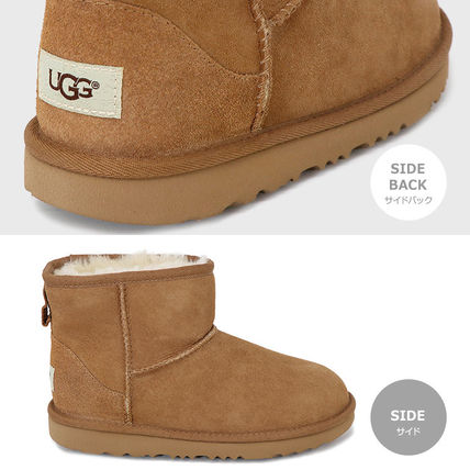UGG Australia Ankle & Booties Rubber Sole Casual Style Fur Street Style Plain 2