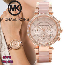 Michael Kors Round Quartz Watches Elegant Style Analog Watches