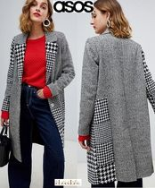ASOS Other Check Patterns Casual Style Coats
