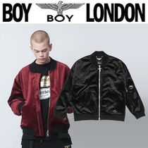 BOY LONDON Unisex Street Style Other Animal Patterns Medium MA-1