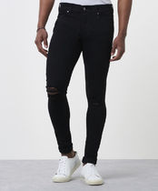 Ron Herman Denim Street Style Plain Skinny Jeans