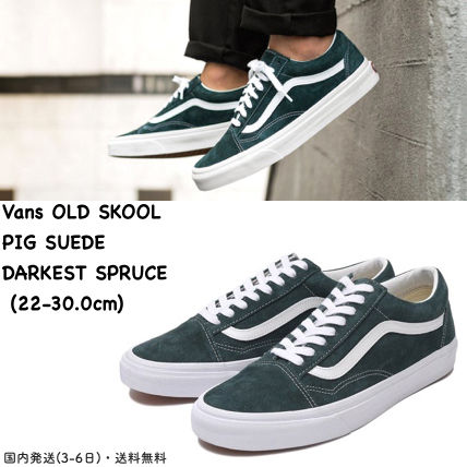 VANS OLD SKOOL 2018-19AW Unisex Suede Street Style Plain Sneakers by ... a85f12a13