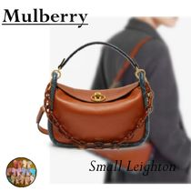 Mulberry Leather Python Elegant Style Shoulder Bags