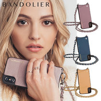 Bandolier Chain Leather Smart Phone Cases