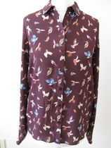 Primark Long Sleeves Other Animal Patterns Medium Shirts & Blouses