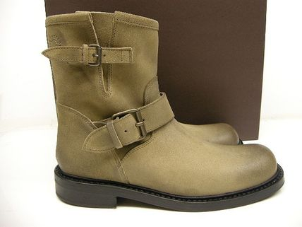 Buttero Suede Engineer Boots
