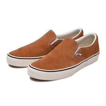 new style & luxury lowest discount hot-selling genuine VANS SLIP ON 2018-19AW Unisex Suede Street Style Plain Loafers & Slip-ons  (V98SCL)