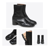 Maison Martin Margiela Plain Leather Chukkas Boots