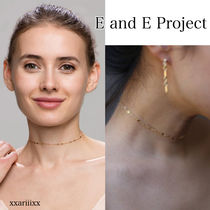 E and E PROJECT Chain Home Party Ideas 14K Gold Elegant Style Fine