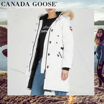 CANADA GOOSE KENSINGTON Plain Medium Parkas