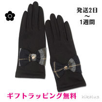 MARY QUANT Tartan Casual Style Smartphone Use Gloves
