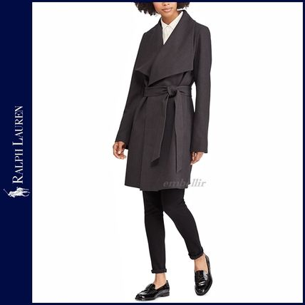 Ralph Lauren Plain Long Elegant Style Coats