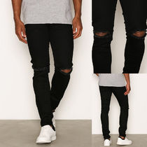 Ron Herman Denim Street Style Plain Skinny Fit Jeans & Denim