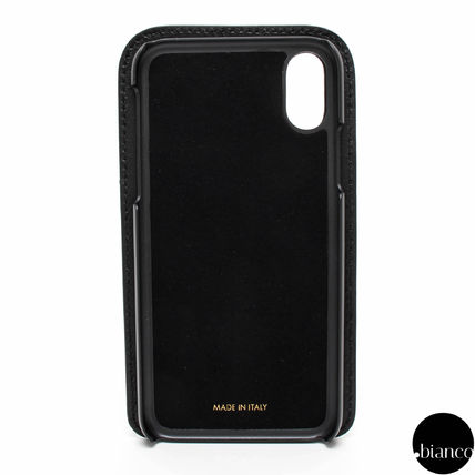 Heart Unisex Street Style Leather iPhone X Smart Phone Cases