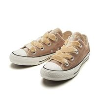 CONVERSE ALL STAR Casual Style Velvet Street Style Low-Top Sneakers