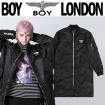BOY LONDON Casual Style Unisex Street Style Other Animal Patterns Long