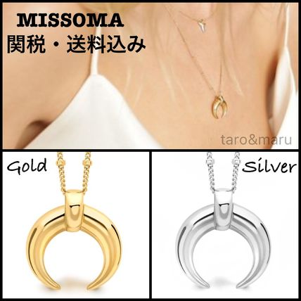 Costume Jewelry Casual Style 18K Gold Necklaces & Pendants