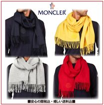 MONCLER Wool Plain Scarves