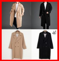 Street Style Long Trench Coats