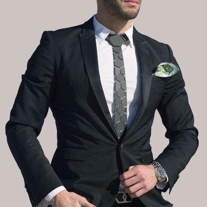 Blended Fabrics Street Style Suits