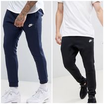 Nike Unisex Sweat Street Style Plain Joggers & Sweatpants