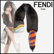 FENDI Plain Elegant Style Accessories