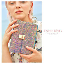 Entre Reves 2WAY Party Style Glitter Shoulder Bags
