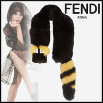 FENDI Studded Plain Elegant Style Accessories