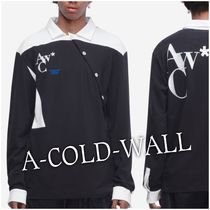 A-COLD-WALL Street Style Long Sleeves Cotton Polos