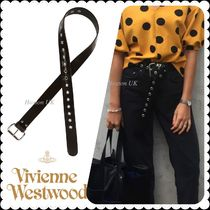 Vivienne Westwood Casual Style Unisex Street Style Leather Belts