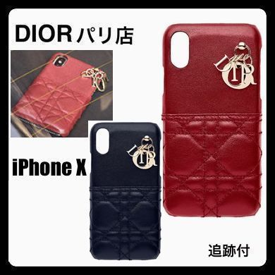 finest selection d6b1c 12c69 Christian Dior LADY DIOR 2018-19AW Monogram Plain Leather Handmade With  Jewels (S0206ONMJ_M41R, S0206ONMJ_M85B)
