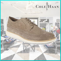 Cole Haan Wing Tip Suede Oxfords