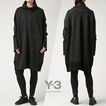 Y-3 Casual Style Plain Long Oversized Outerwear