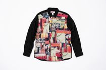 Supreme Unisex Street Style Collaboration Long Sleeves Tops