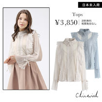 Chicwish Long Sleeves Shirts & Blouses