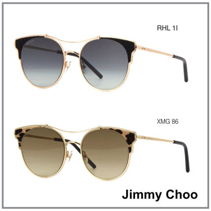 f3cee5556d7a Jimmy Choo Cat Eye Glasses Sunglasses (LUE/S) by Papermoon - BUYMA