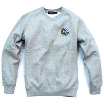 Ralph Lauren Crew Neck Pullovers Sweat Long Sleeves Plain Sweatshirts