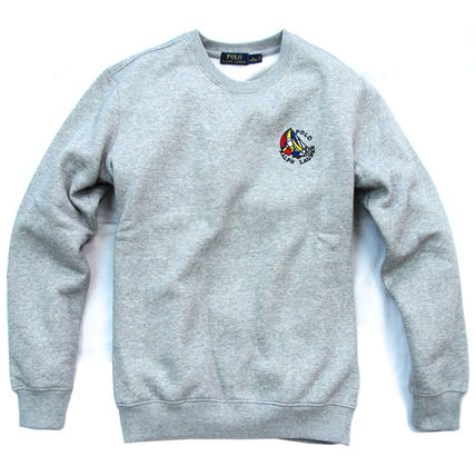 Ralph Lauren Sweatshirts Crew Neck Pullovers Sweat Long Sleeves Plain Sweatshirts