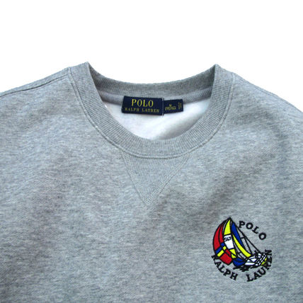 Ralph Lauren Sweatshirts Crew Neck Pullovers Sweat Long Sleeves Plain Sweatshirts 2