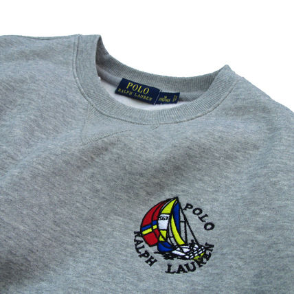 Ralph Lauren Sweatshirts Crew Neck Pullovers Sweat Long Sleeves Plain Sweatshirts 3
