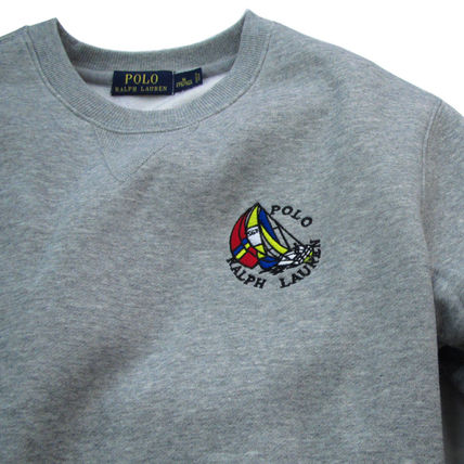 Ralph Lauren Sweatshirts Crew Neck Pullovers Sweat Long Sleeves Plain Sweatshirts 5