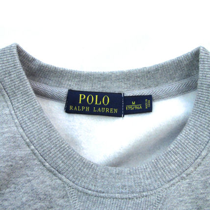 Ralph Lauren Sweatshirts Crew Neck Pullovers Sweat Long Sleeves Plain Sweatshirts 8