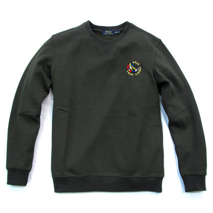 Ralph Lauren Sweatshirts Crew Neck Pullovers Sweat Long Sleeves Plain Sweatshirts 16
