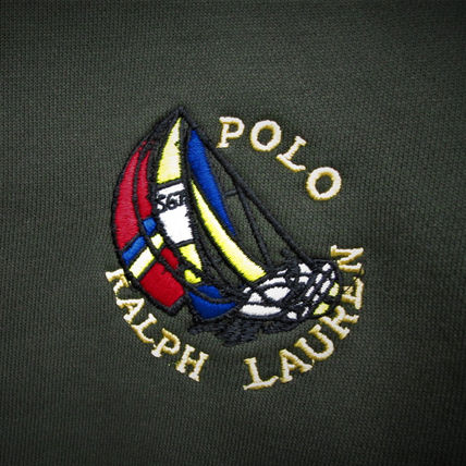 Ralph Lauren Sweatshirts Crew Neck Pullovers Sweat Long Sleeves Plain Sweatshirts 17