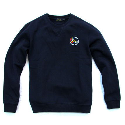 Ralph Lauren Sweatshirts Crew Neck Pullovers Sweat Long Sleeves Plain Sweatshirts 18