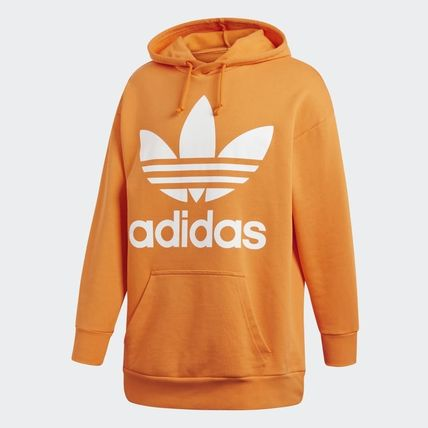release date: classic styles really comfortable adidas 2018-19AW Street Style Oversized Hoodies