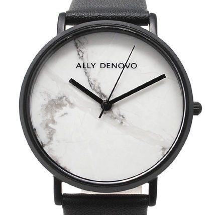 Casual Style Round Quartz Watches Analog Watches